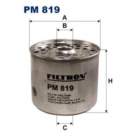 FILTR PALIWA FILTRON PM819