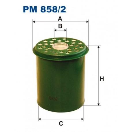 FILTR PALIWA FILTRON PM858/2