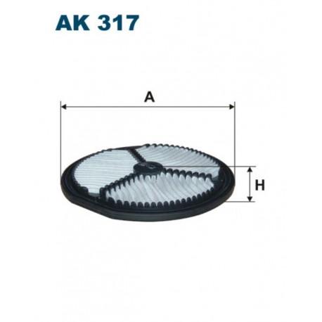 FILTR POWIETRZA FILTRON AK317