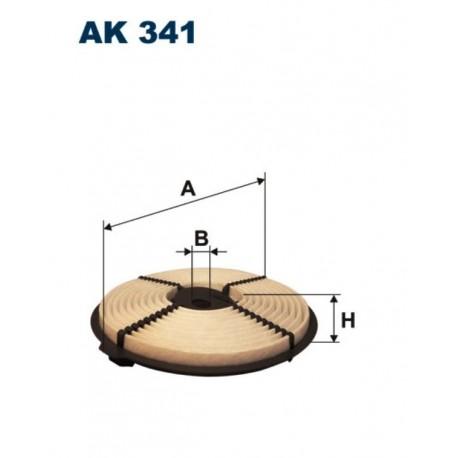 FILTR POWIETRZA FILTRON AK341