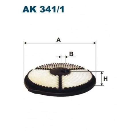 FILTR POWIETRZA FILTRON AK341/1