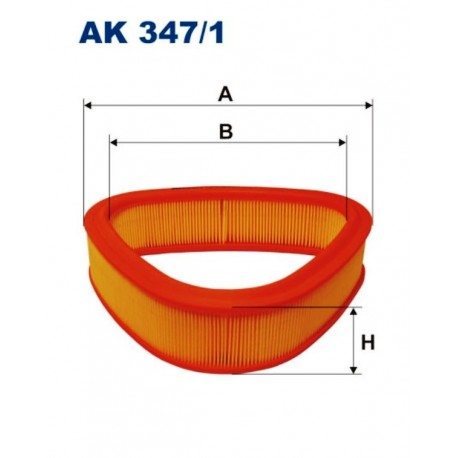 FILTR POWIETRZA FILTRON AK347/1