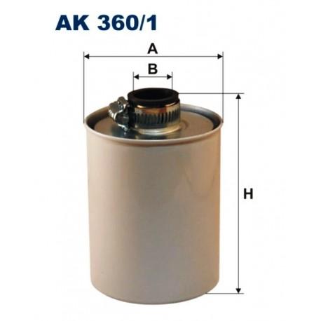 FILTR POWIETRZA FILTRON AK360/1