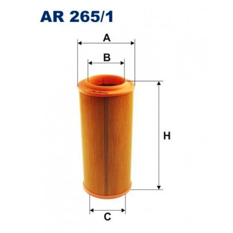 FILTR POWIETRZA FILTRON AR265/1