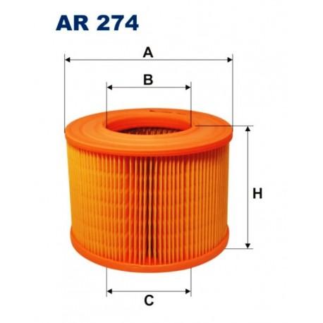 FILTR POWIETRZA FILTRON AR274