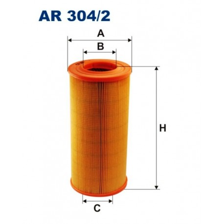 FILTR POWIETRZA FILTRON AR304/2