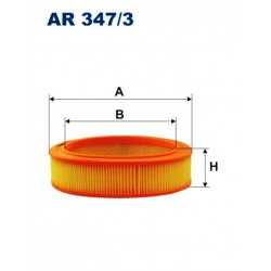 FILTR POWIETRZA FILTRON AR347/3
