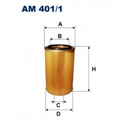 FILTR POWIETRZA FILTRON AM401/1