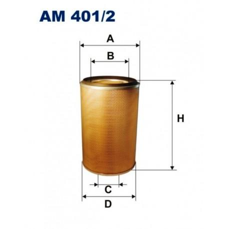 FILTR POWIETRZA FILTRON AM401/2