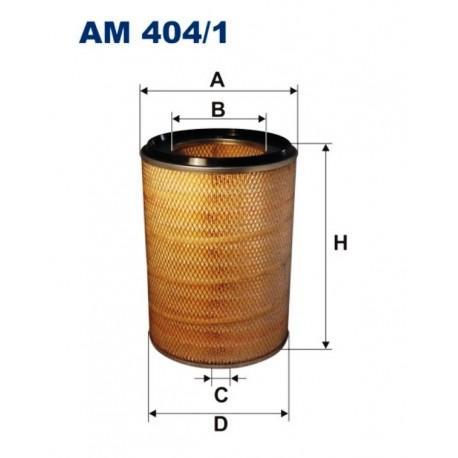 FILTR POWIETRZA FILTRON AM404/1