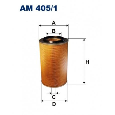 FILTR POWIETRZA FILTRON AM405/1
