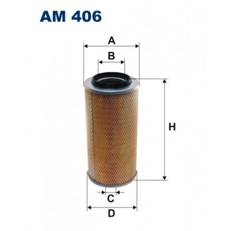 FILTR POWIETRZA FILTRON AM406