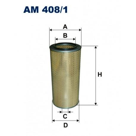 FILTR POWIETRZA FILTRON AM408/1