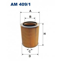 FILTR POWIETRZA FILTRON AM409/1