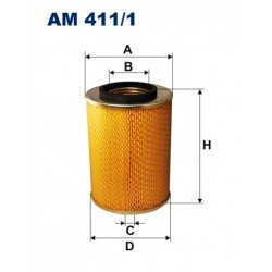 FILTR POWIETRZA FILTRON AM411/1