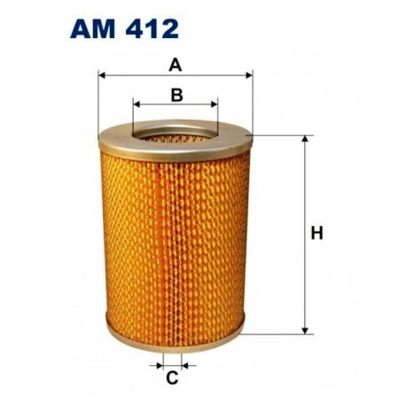 FILTR POWIETRZA FILTRON AM412