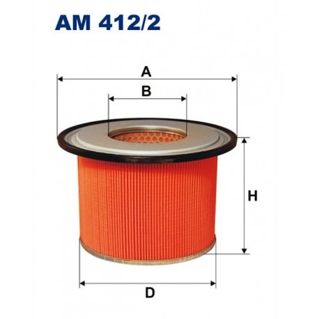 FILTR POWIETRZA FILTRON AM412/2