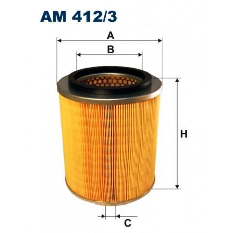 FILTR POWIETRZA FILTRON AM412/3