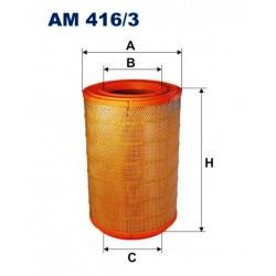 FILTR POWIETRZA FILTRON AM416/3