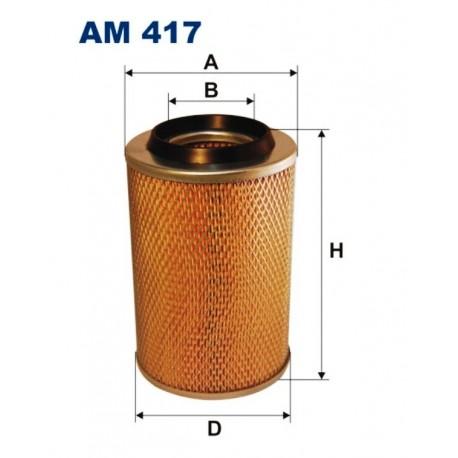 FILTR POWIETRZA FILTRON AM417