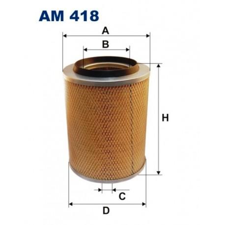 FILTR POWIETRZA FILTRON AM418