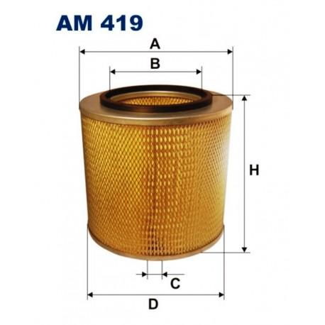 FILTR POWIETRZA FILTRON AM419