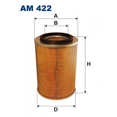 FILTR POWIETRZA FILTRON AM422
