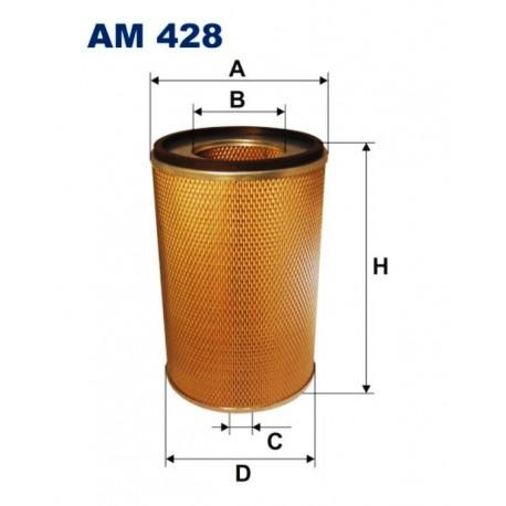 FILTR POWIETRZA FILTRON AM428