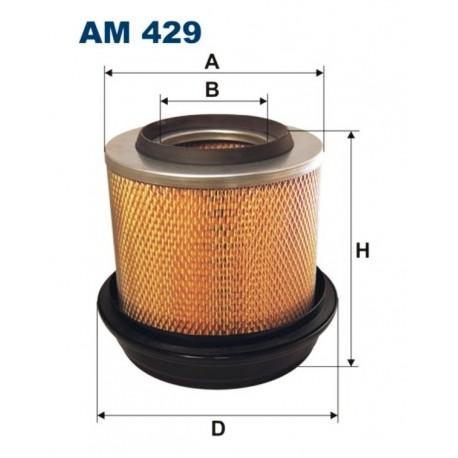 FILTR POWIETRZA FILTRON AM429