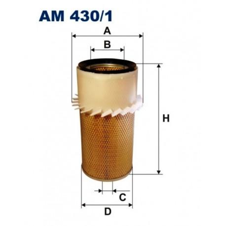 FILTR POWIETRZA FILTRON AM430/1
