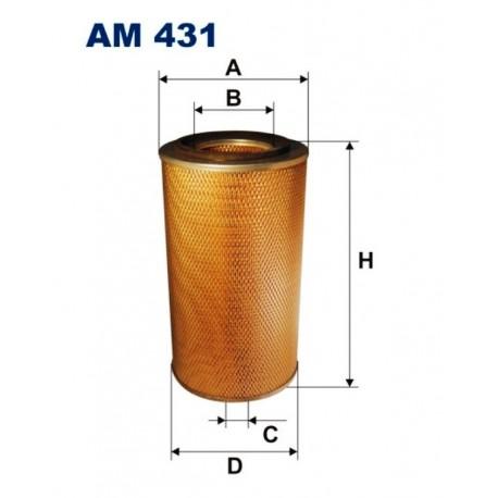 FILTR POWIETRZA FILTRON AM431