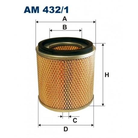 FILTR POWIETRZA FILTRON AM432/1