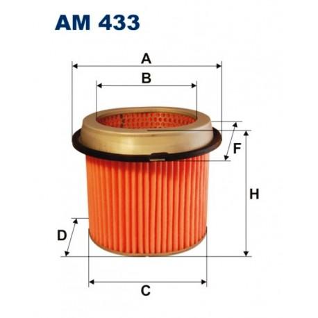 FILTR POWIETRZA FILTRON AM433