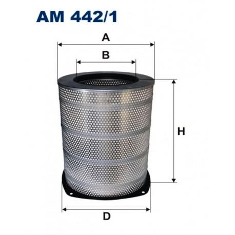 FILTR POWIETRZA FILTRON AM442/1