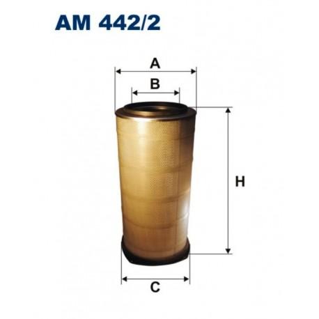 FILTR POWIETRZA FILTRON AM442/2