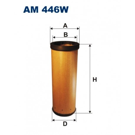 FILTR POWIETRZA FILTRON AM446W