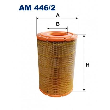 FILTR POWIETRZA FILTRON AM446/2