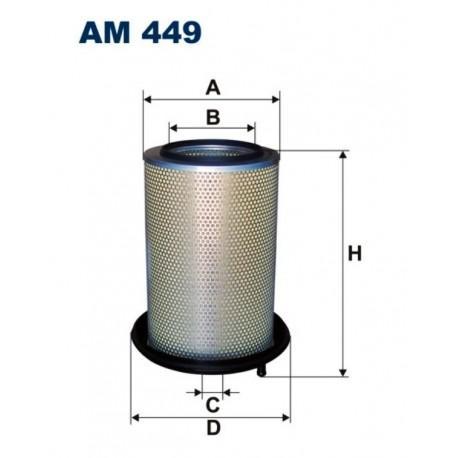FILTR POWIETRZA FILTRON AM449