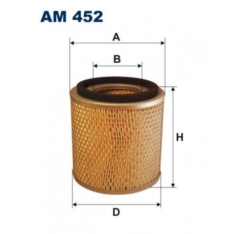 FILTR POWIETRZA FILTRON AM452