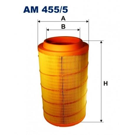 FILTR POWIETRZA FILTRON AM455/5