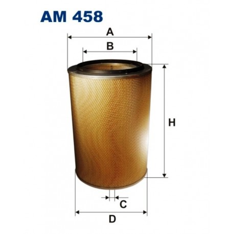 FILTR POWIETRZA FILTRON AM458