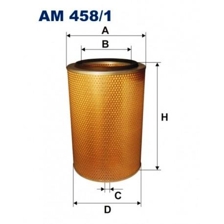 FILTR POWIETRZA FILTRON AM458/1
