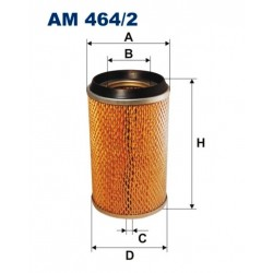 FILTR POWIETRZA FILTRON AM464/2