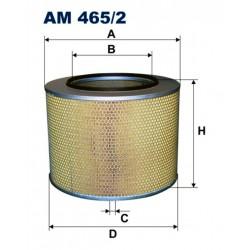 FILTR POWIETRZA FILTRON AM465/2