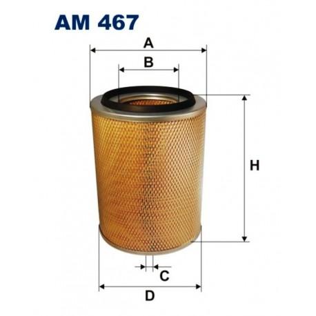 FILTR POWIETRZA FILTRON AM467