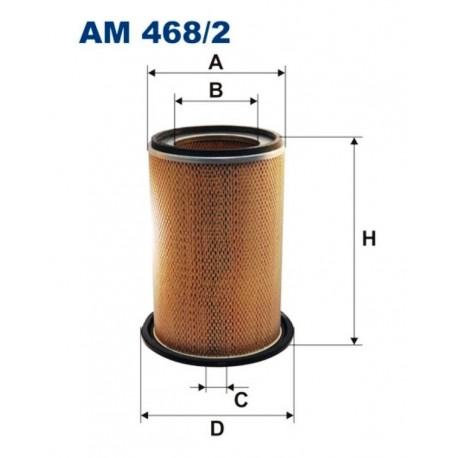 FILTR POWIETRZA FILTRON AM468/2