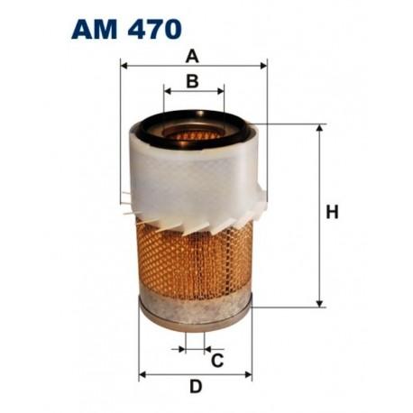 FILTR POWIETRZA FILTRON AM470