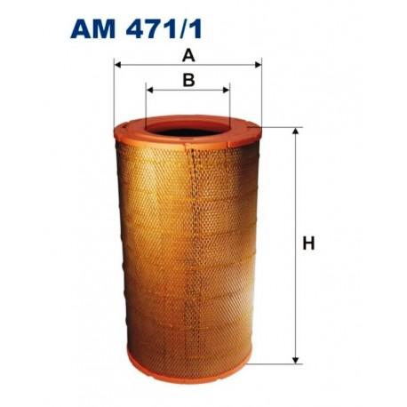 FILTR POWIETRZA FILTRON AM471/1