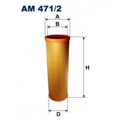 FILTR POWIETRZA FILTRON AM471/2