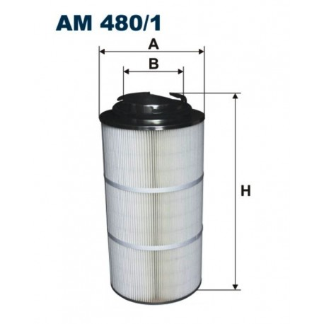 FILTR POWIETRZA FILTRON AM480/1